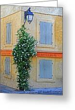 Street Corner In Provence Greeting Card
