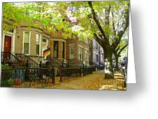 Windsor Terrace Greeting Card