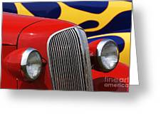 Street Rods - D001174 Greeting Card