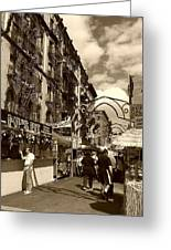 Streets Of Little Italy Greeting Card
