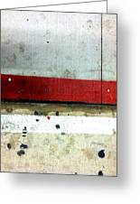 Streets Of New York Abstract Eight Greeting Card