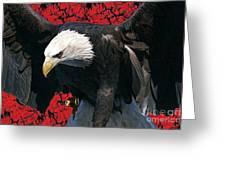 Strength Of America Greeting Card