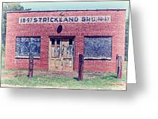 Strickland Grocery Greeting Card
