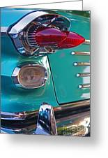 Striking Tail Lights Greeting Card