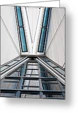 Structure Reflections Greeting Card