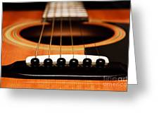 Strum Front Greeting Card