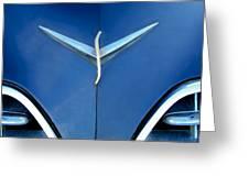 Studebaker Hood Emblem Greeting Card
