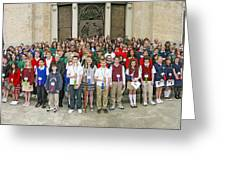 Students Catholic Schools 2007 Greeting Card