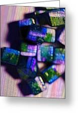 Study Of Beads And Yarn Greeting Card