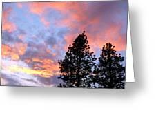 Stunning Spring Sky Greeting Card