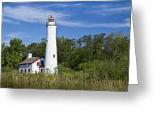 Sturgeon Point Lighthouse Greeting Card