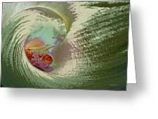 Stylized Calla Lily Greeting Card