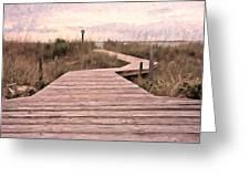 Subtle Bridge Greeting Card