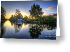 Suburban Sunrise 2.0 Greeting Card