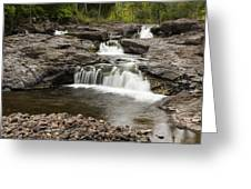 Sucker River Falls 2 A Greeting Card