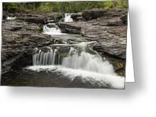Sucker River Falls 2 G Greeting Card