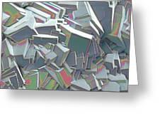 Sucrose Crystals, Sem Greeting Card by Steve Gschmeissner
