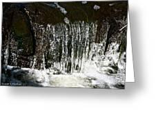 Suds Falls Greeting Card