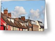 Suffolk Rooftops Greeting Card