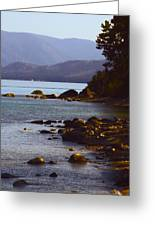 Sugar Pine Point Beach Greeting Card