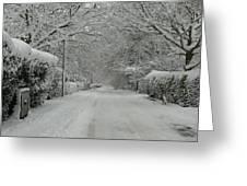 Sugar Road Greeting Card