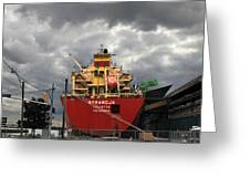 Sugar Ship Greeting Card