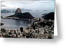 Sugarloaf Mountain Brasil Greeting Card