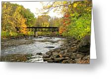 Sulphite Covered Bridge Greeting Card
