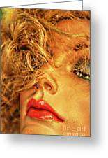 Sultry Womankin Greeting Card by David Taylor