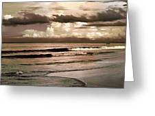 Summer Afternoon At The Beach Greeting Card