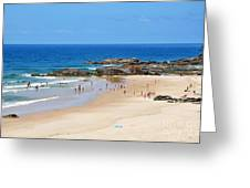 Summer At Port Macquarie Greeting Card