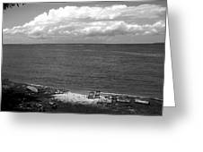 Summer At The Point Greeting Card