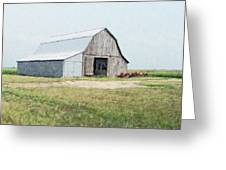 Summer Barn Greeting Card