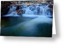 Summer Cascade Greeting Card by Chad Dutson