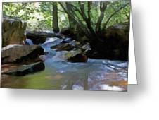 Summer Creek Greeting Card