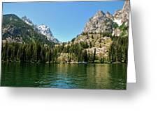 Summer Day At Jenny Lake Greeting Card