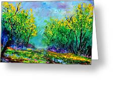 Summer In The Wood 452160 Greeting Card