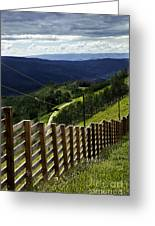 Summer In Vail - Colorado Greeting Card