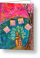 Summer Melodies Greeting Card