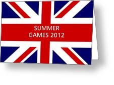Summer Olympics In U.k. Greeting Card