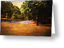 Summer Pond Greeting Card