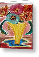 Summer Season 2012 Blooms Greeting Card