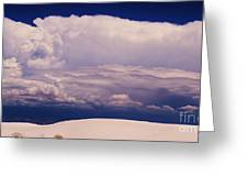 Summer Storms Over The Mountains 2 Greeting Card
