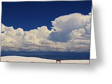 Summer Storms Over The Mountains 4 Greeting Card
