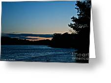 Summer Sundown Greeting Card