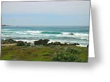 Summer Waters Aqua Greeting Card