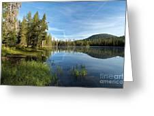 Summit Lake Shores Greeting Card