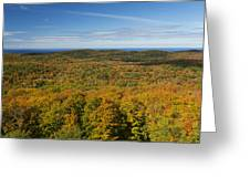 Summit Peak Autumn 12 Greeting Card