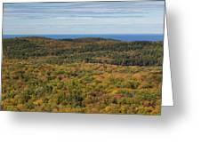 Summit Peak Autumn 13 Greeting Card