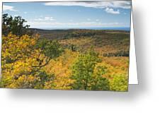 Summit Peak Autumn 16 Greeting Card